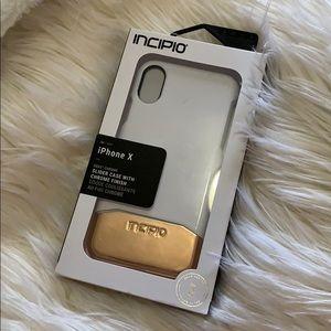 Incipio iPhone X slider case